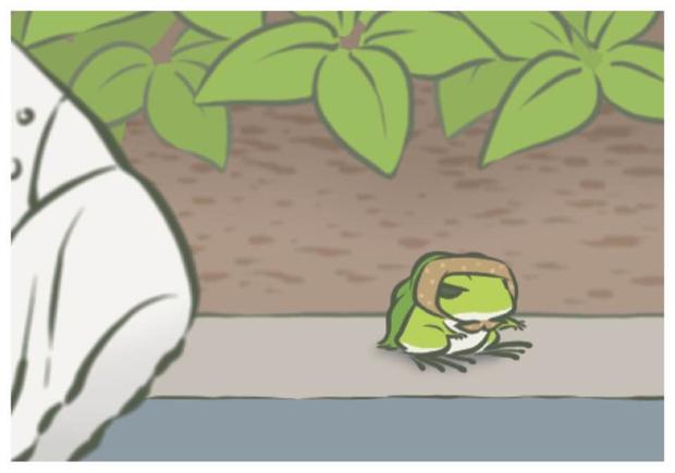 大家也有在玩旅かえる(旅行靑蛙)嗎?