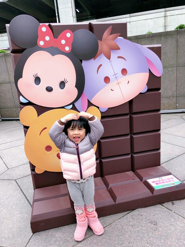 還有棠棠最愛吃的巧克力造型牆
