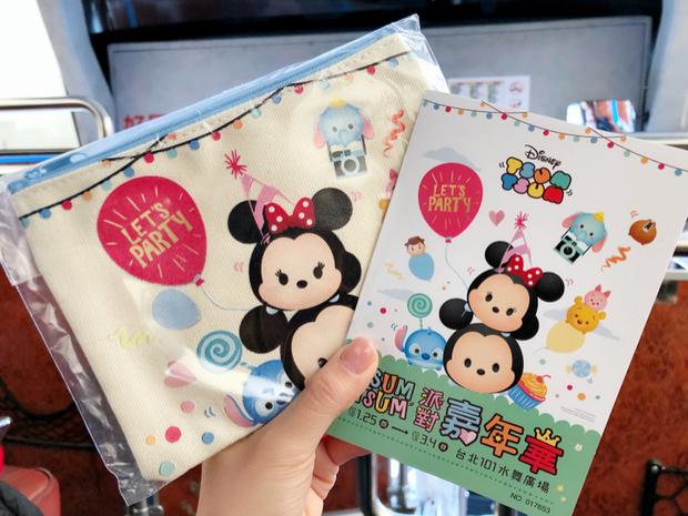 預購會拿到一本通關護照跟一個超可愛Tsum Tsum造型帆布包材質還蠻好的,根本捨不得用(包包是送完為止喔!)