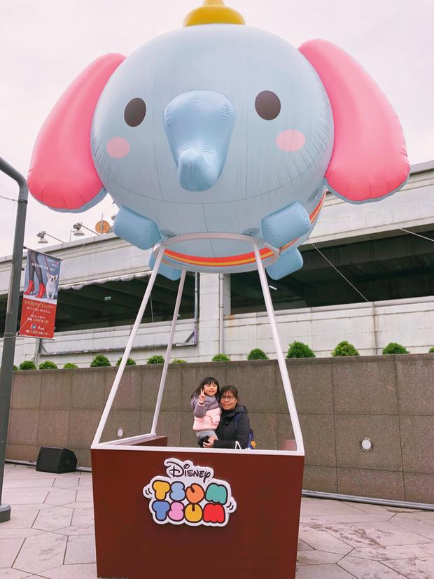 入口一進去就是萌翻天的小飛象熱氣球沒坐過真的熱氣球,拍拍照過過癮也不錯哈哈